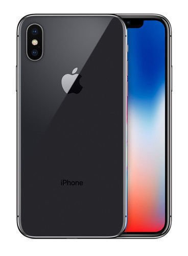 Neverlock Apple iPhone X 64gb gray-silver brand new