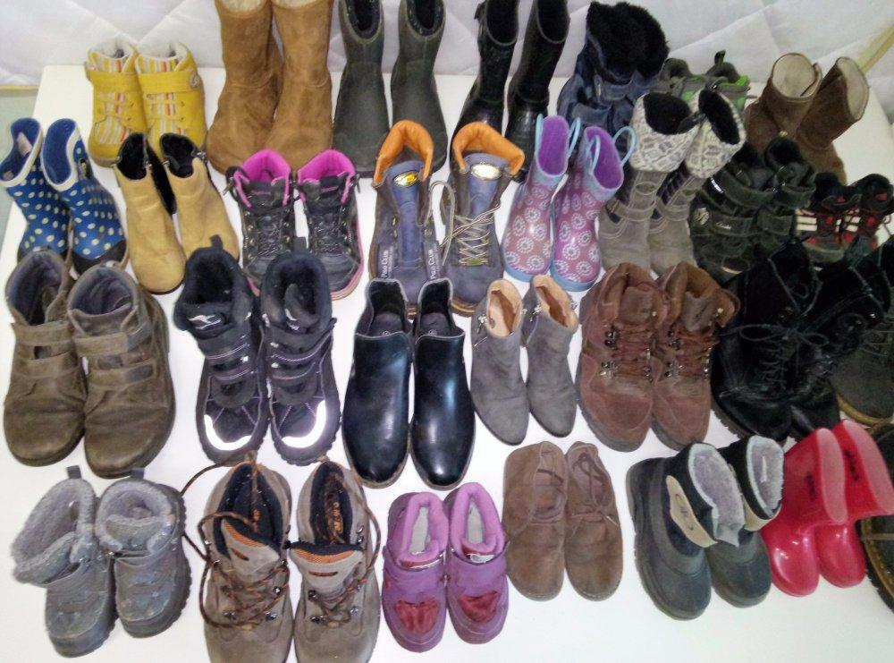 Купить Теплая детская обувь микс