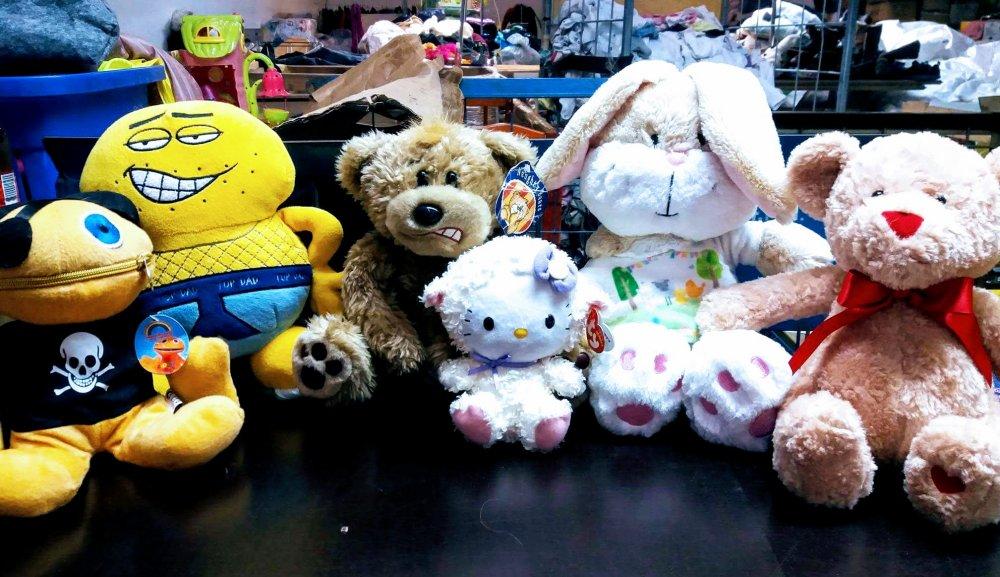 Купить Мягкие игрушки секонд хенд