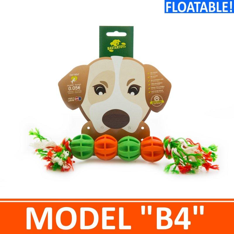 """Купить Игрушка для собак - 4 мячика на канатике. Модель """"B4"""""""