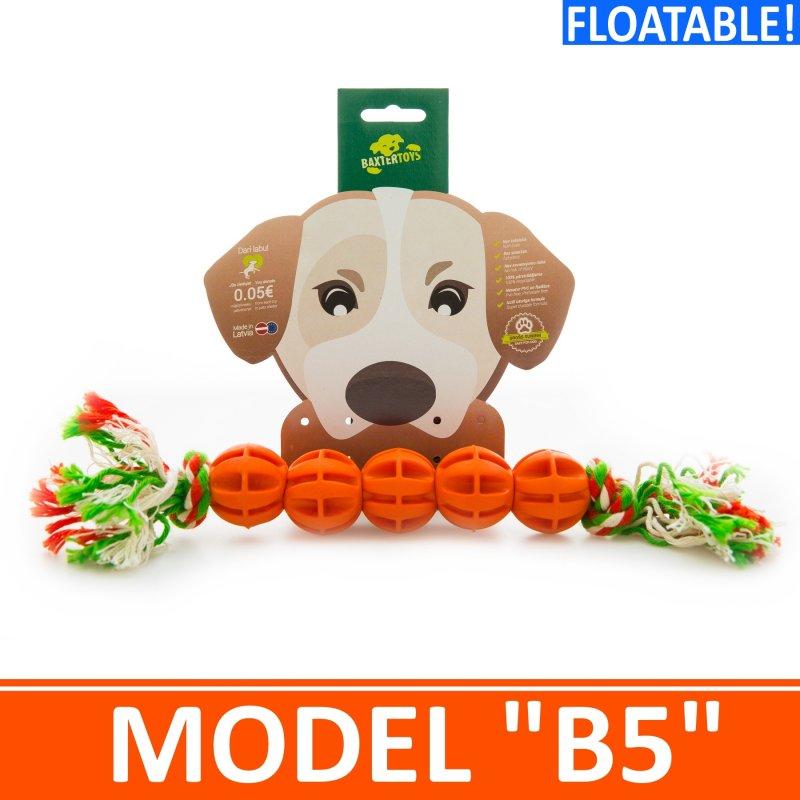 """Купить Игрушка для собак - 5 мячиков на канатике . Модель """"B5"""""""