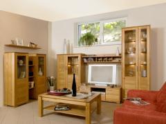 Мебель для гостиной из натурального дерева