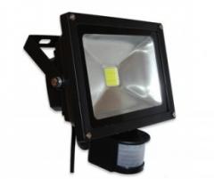 Светодиодный прожектор 30W 5500K PIR