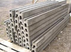 Столбы бетонные для заборов