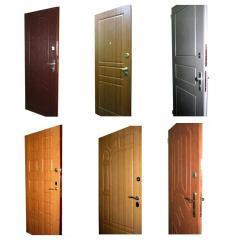 Двери металлические для квартир, частных домов, подъездов