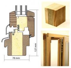 Энергосберегающие деревянные окна со слоем Purenit