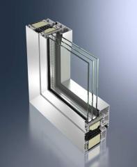 Окна алюминиевые из профиля Schuco