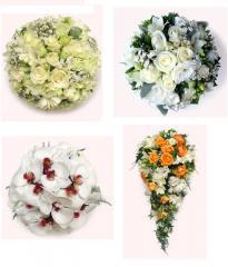 Букеты для невесты, свадебные букеты