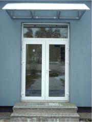 Двери входные металлопластиковые