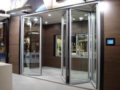 Двери раздвижные алюминиевые