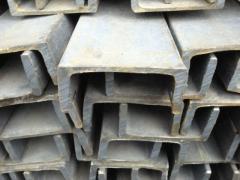 Швеллеры стальные горячекатаные