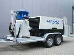 Oборудованиe гидроабразивной очистки torbo® .