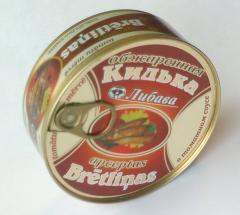 Килька обжаренная в томате