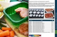 Барьерный контейнер ПЭТ для расфасованных продуктов