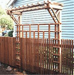 Балтийские пиломатериалы для заградительно-садовых элементов