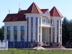 Шикарный особняк в Латвии.