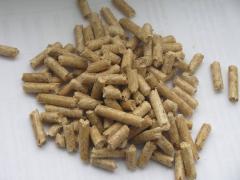 Древесные гранулы (пеллеты)