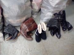 Зимняя обувь секонд-хенд. Сортированная.