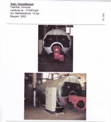 Second-hand coppers, the boiler equipment from EU