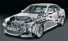 Used car of the spare part BMW
