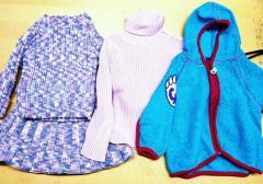 Детская теплая одежда микс секонд хенд
