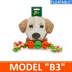 Игрушка для собак - 3 мячика на канатике. Модель