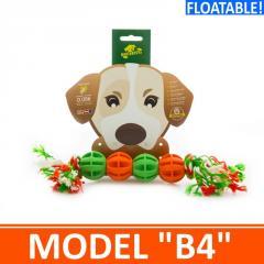 Игрушка для собак - 4 мячика на канатике. Модель