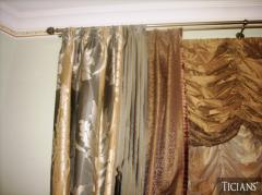 Drapery fabrics
