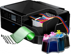 Система Непрерывной Подачи Чернил для принтера Epson Stylus BX935FWD.