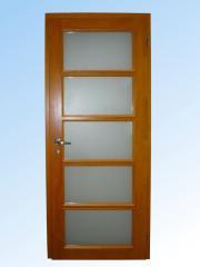 Двери из массивного дерева