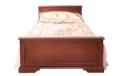 Кровать односпальная (КТ-579)+вклад под матрас