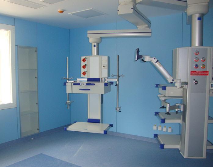Заказать Монтаж специализированного медицинского оборудования