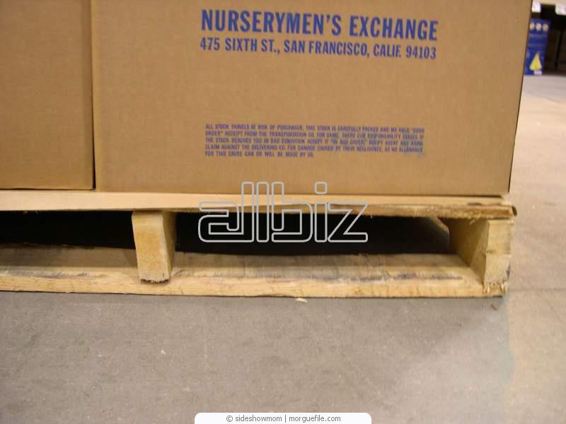 Заказать Услуги складирования и хранения грузов на паллетах