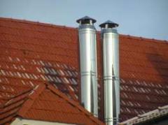 Изготовление и монтаж дымоходов и вентиляции