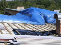Замена покрытия крыши