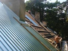 Ремонт крыши текущий и капитальный