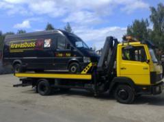 Эвакуация грузовиков и трейлеров