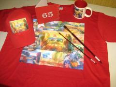 Цветная печать на рекламной и сувенирной продукции