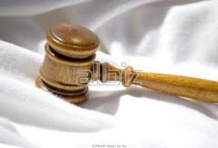 Юридическая помощь в процессах неплатежеспособности, правовой защиты
