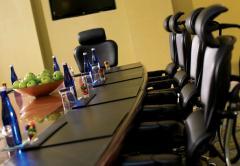 Обеды и Ужины в зале заседаний совета директоров